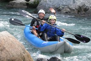 ダッキーツアー/トップパドラーがマンツーマンでご案内する川下りツアー・プログラム